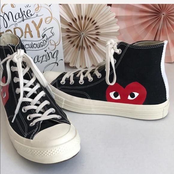 85b35cce9fc709 Comme des Garcons Shoes - Converse X Play Comme des Garcons Sneakers M10 W12